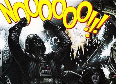 Darth Vader say Noooooo!!