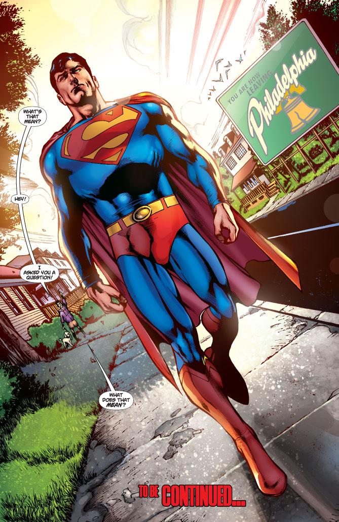 Superman Grounded