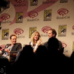 WonderCon 2012 Day 2 - Alexander Skarsgard, Brooklyn Decker and Peter Berg