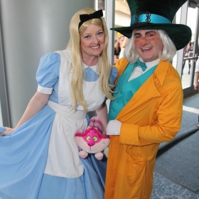 WonderCon 2012 Day 2 - Alice and Mad Hatter