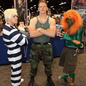 WonderCon 2012 Day 2 - Cody, Guile, and Blanka