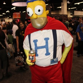 WonderCon 2012 Day 2 - Dancing Homer