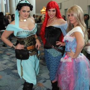 WonderCon 2012 Day 2 - Disney Princess
