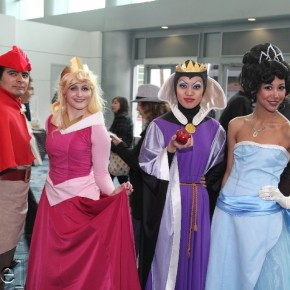 WonderCon 2012 Day 2 - Disney folks