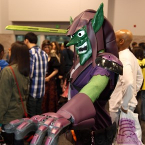 WonderCon 2012 Day 2 - Green Goblin