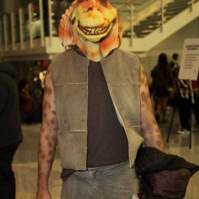WonderCon 2012 Day 2 - Jar Jar Binks