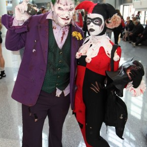 WonderCon 2012 Day 2 - Joker and Harley Quinn