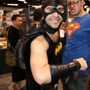 WonderCon 2012 Day 2 - Man in Batgirl suit