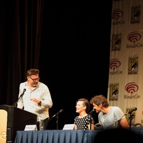 WonderCon 2012 Day 2 - Milla Jovovich and Paul Anderson