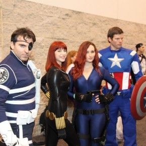 WonderCon 2012 Day 2 - Nick Fury, Black Widows, and Captain America