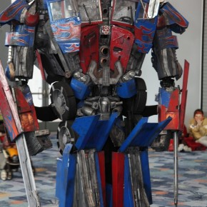 WonderCon 2012 Day 2 - Optimus Prime