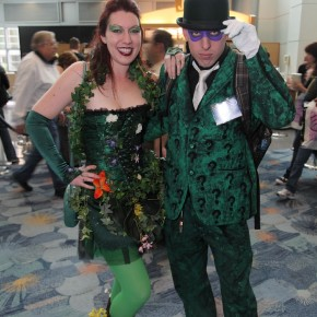 WonderCon 2012 Day 2 - Poison Ivy and Riddler