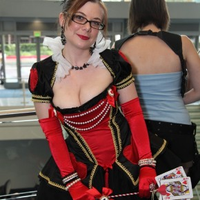 WonderCon 2012 Day 2 - Queen of Hearts