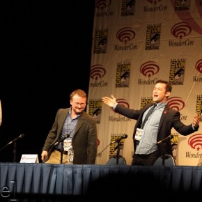 WonderCon 2012 Day 2 - Rian Johnson and Joseph Gordon-Levitt