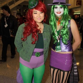 WonderCon 2012 Day 2 - Riddler and Joker