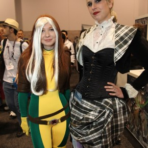 WonderCon 2012 Day 2 - Rogue and lady