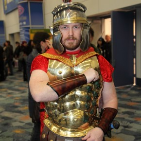 WonderCon 2012 Day 2 - Roman warrior