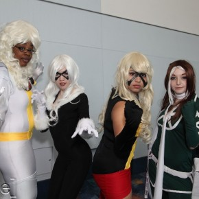 WonderCon 2012 Day 2 - Storm, Black Cat, Ms Marvel and Rogue