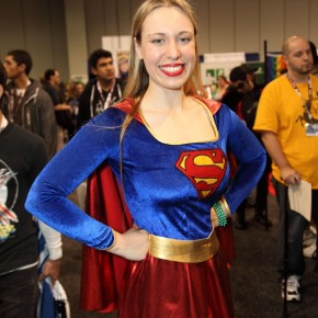 WonderCon 2012 Day 2 - Super Girl