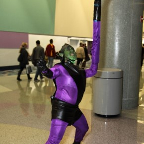 WonderCon 2012 Day 2 - Super Skrull 2