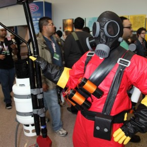 WonderCon 2012 Day 2 - TF Flamethrower