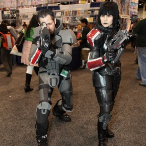 WonderCon 2012 Day 2 - Two Mass Effects folks