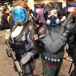 WonderCon 2012 Day 2 - Umbrella Corp Soldiers