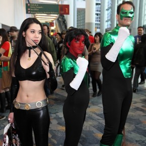 WonderCon 2012 Day 2 - X-23 and Green Lanterns