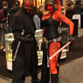 WonderCon 2012 Day 3 - Darth Maul and Sith Twilek