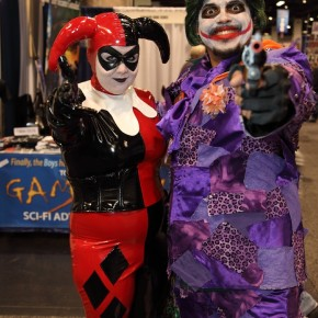 WonderCon 2012 Day 3 - Harley Quinn and Joker