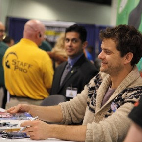 WonderCon 2012 Day 3 - Joshua Jackson