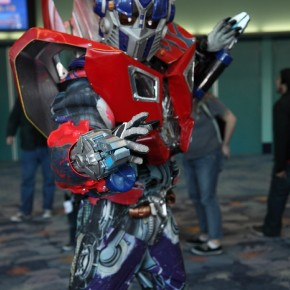 WonderCon 2012 Day 3 - Optimus Prime