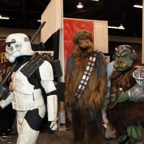 WonderCon 2012 Day 3 - Sand Trooper, Chewie and Gamorrean