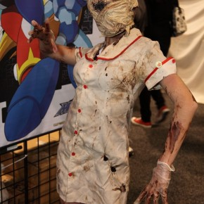 WonderCon 2012 Day 3 - Silent Hill lady