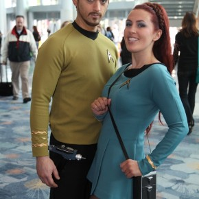 WonderCon 2012 Day 3 - Star Trek folks