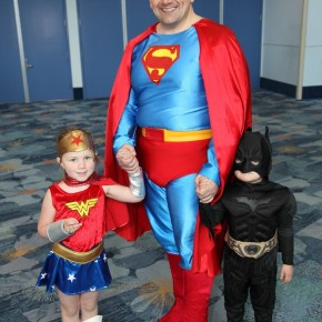 WonderCon 2012 Day 3 - Wonder Woman, Superman and Batman