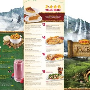 Hungry for Second Breakfast? Denny&#039;s Has a Hobbit-themed Menu